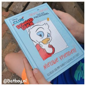 donald, duck, lezen, boek
