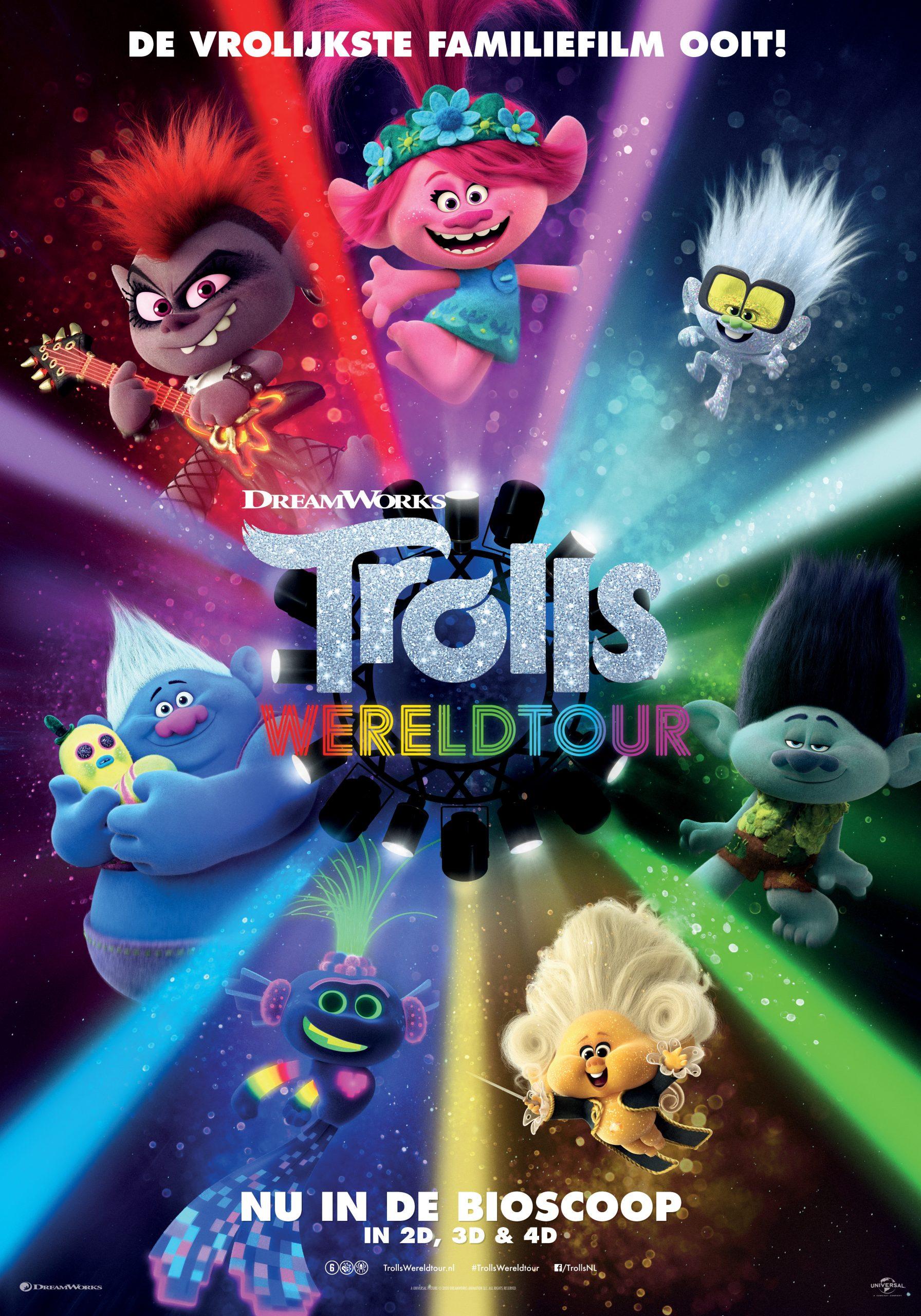 Bioscooptip: Trolls Wereldtour