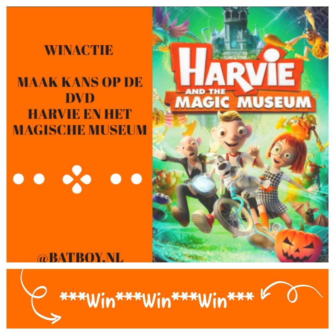 harvie en het magische museum, magische museum