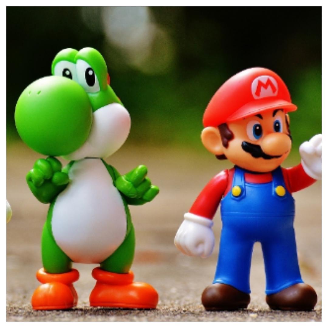 Opbergdoos maken voor je Nintendo switch spelletjes