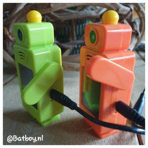walkie talkie, kinderen, robot