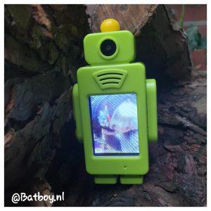 walkie talkie, robot, kinderen, lcd-scherm, oplaadbaar