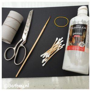 verven, schilderen, knutselen, lege toiletrol