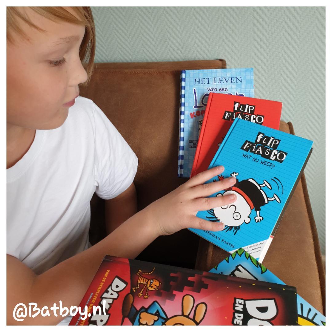 Dit zijn de top 5 boeken van mijn 9 jarige