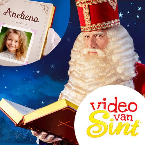 video van Sint, persoonlijke videoboodschap, boodschap